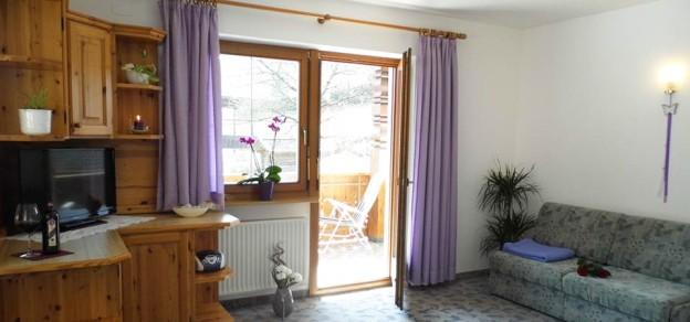 Appartement Sonnenparadies Wohnraum