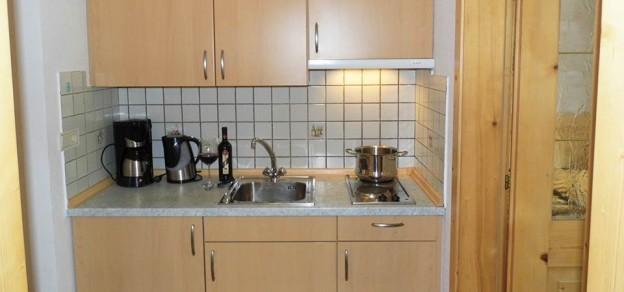 Appartement Sonnenparadies Küchenzeile